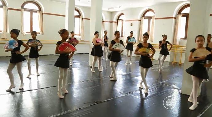 Central de Artesanato também é a sede da Escola de Balé de Teresina (Foto: Katylenin França/Gshow)