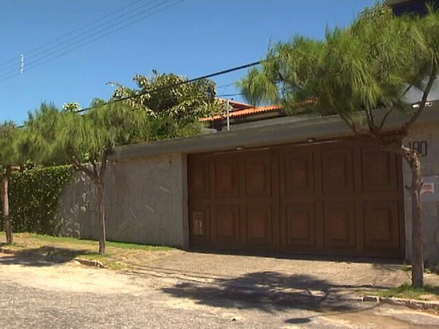 Sérgio Machado vai cumprir prisão domiciliar em casa de luxo em Fortaleza (Foto: TV Verdes Mares/Reprodução)