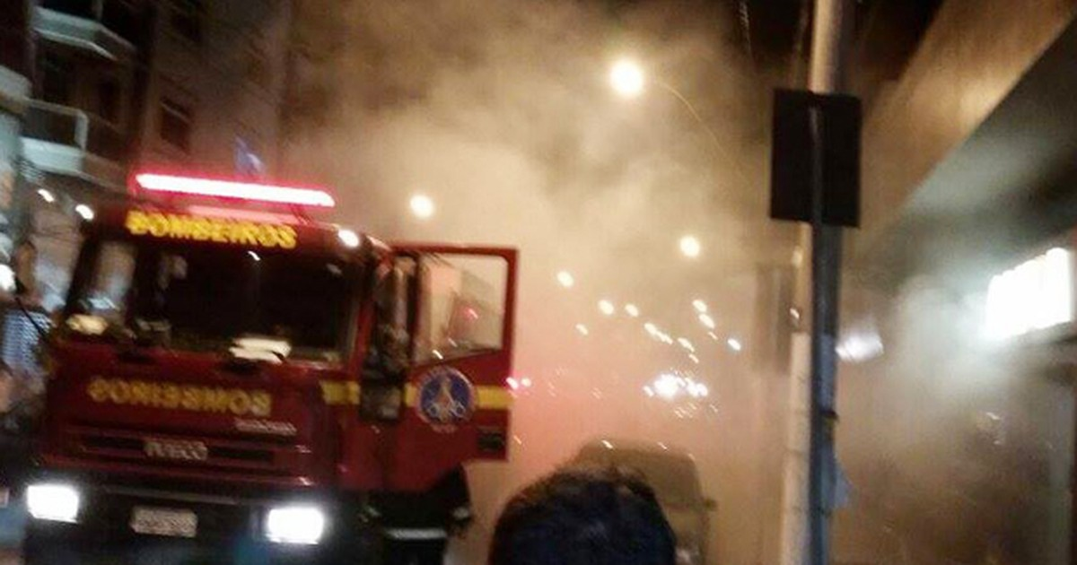 Curto-circuito pode ter causado incêndio na Caixa em Divinópolis - Globo.com