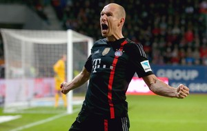 Bayern de Munique -Robben comemora gol (Foto: Getty)