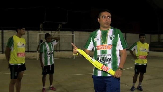 Itaitinga futsal Copa TV Verdes Mares (Foto: Reprodução/TV Verdes Mares)