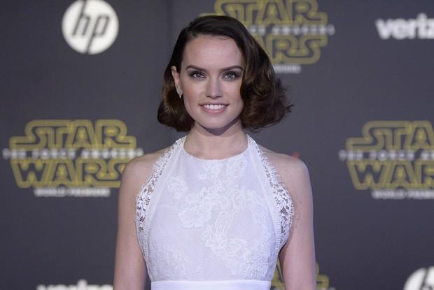 Daisy Ridley em première em Los Angeles, nos Estados Unidos (Foto: Kevork Djansezian/ Reuters)