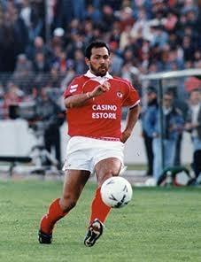 Isaías, ex-atacante do Benfica (Foto: Divulgação)