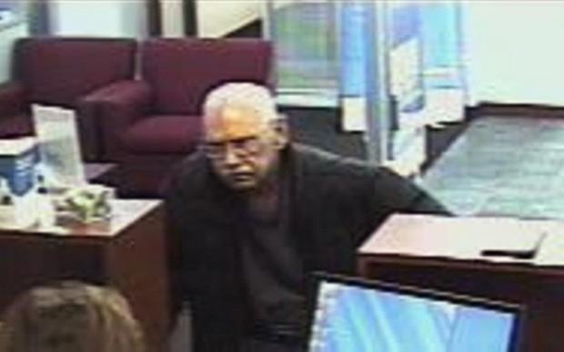 Walter Unbehaun roubou banco para ser pego propositalmente e voltar para a cadeia (Foto: FBI, Arquivo/AP)