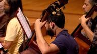 Músicos de várias nacionalidades formam a Orquestra Filarmônica de Minas Gerais