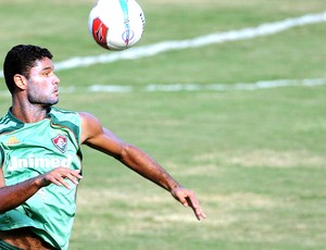Gum no treino do Fluminense (Foto: Dhavid Normando / Photocamera)