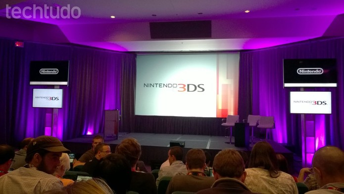 Conferência da Nintendo (Foto: Isadora Díaz/TechTudo)