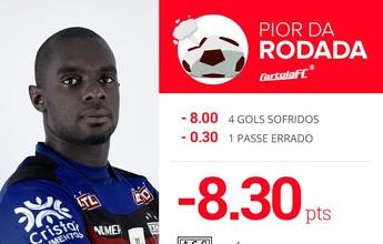 Cartola FC: Nino Paraíba é o mito da 1ª rodada; e Tomas Bastos surpreende