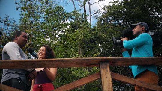 'Pé Na Pista' dá um mergulho na Cachoeira do Mosquito