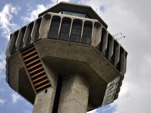 Torre de controle do Aeroporto Internacional de Viracopos (Foto: Luciano Calafiori/G1 Campinas)