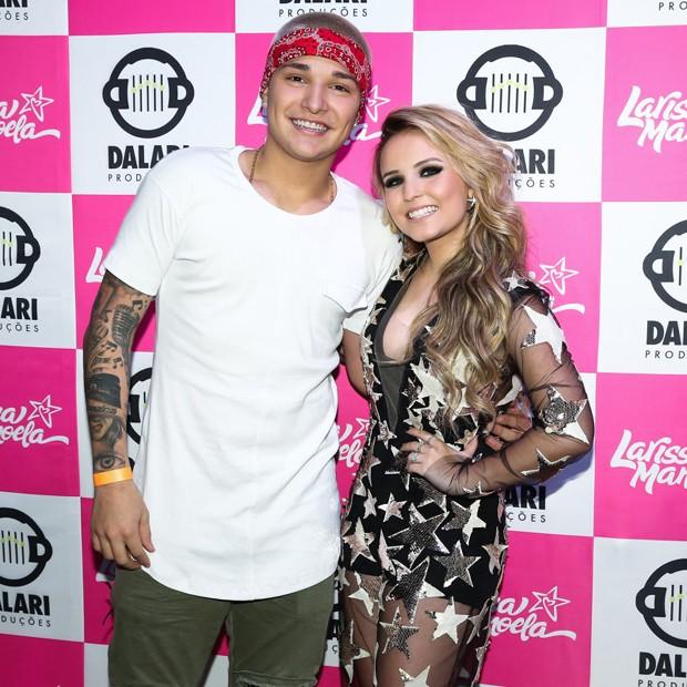 MC Gui e Larissa Manoela (Foto: Reprodução/Instagram)