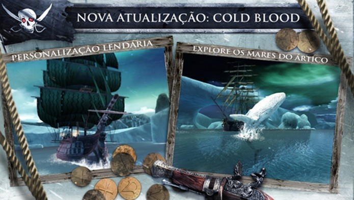 AC Pirates é um jogo com bons gráficos, história e português e agora é gratuito (Foto: Divulgação)