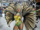 Musa diz que furto impediu recorde de desfile com pintura corporal no Rio
