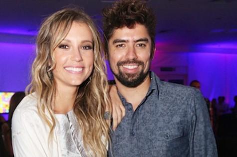 Juliana Didone e o namorado Flávio Rossi (Foto: Divulgação)