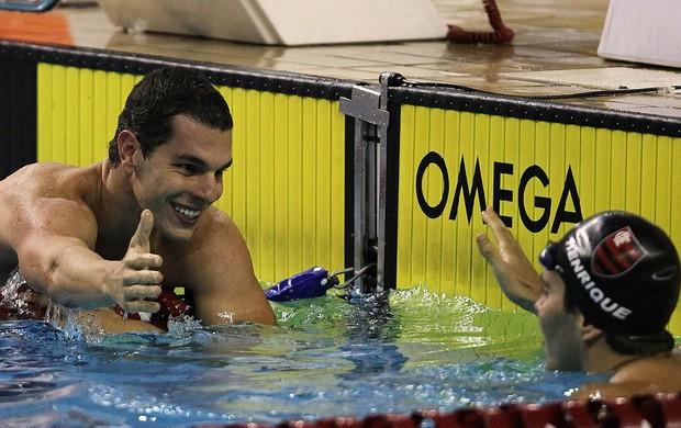 Tales Cerdeira natação troféu Maria Lenk (Foto: Satiro Sodré / AGIF)