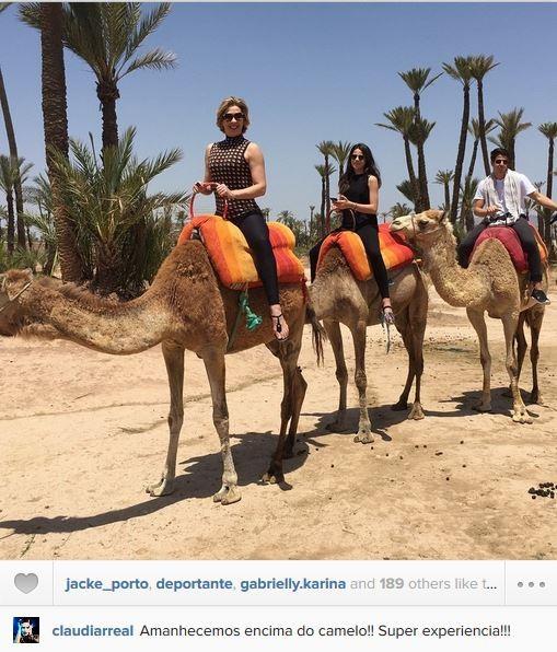 Claudia Raia escorrega no português (Foto: Instagram / Reprodução)