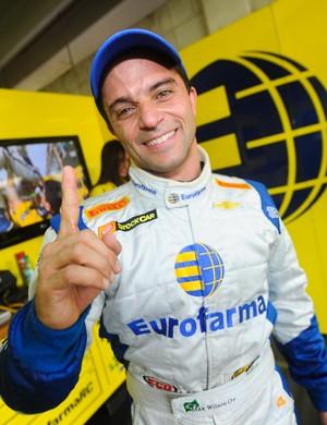 Max Wilson é pole no circuito de londrina (Foto: Duda Bairros/Vicar)