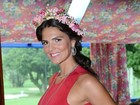 Daniella Sarahyba está grávida de sua segunda filha