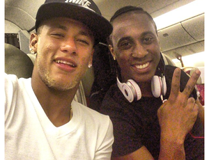 Neymar e Arouca Londres (Foto: Reprodução Instagram)