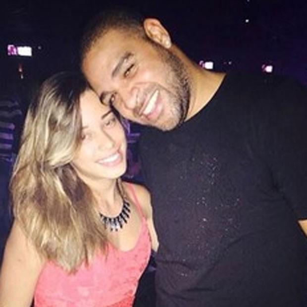 Micaele Mesquita e Adrinao (foto de arquivo) (Foto: Instagram/ Reprodução)