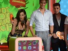 Katy Perry, Johnny Depp e outros famosos participam do Kids' Choice Awards