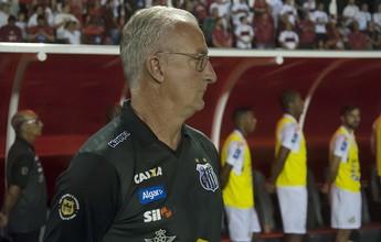 """Dorival vê Santos no caminho certo e pede calma ao torcedor: """"Evoluindo"""""""