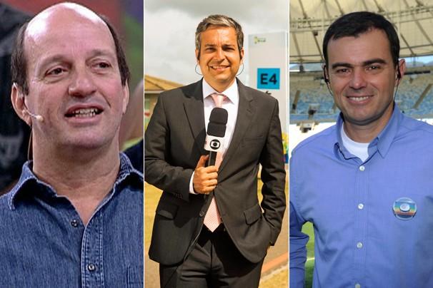 Marcos Uchôa, Renato Ribeiro e Tino Marcos comandam o Globo Repórter especial da Copa do Mundo (Foto: Globo)