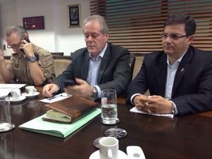 Secretário de Segurança Pública promete resposta efetiva (Foto: Osvaldo Sagaz/Grupo RBS)