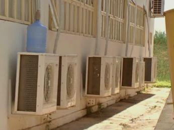 Aparelhos de ar-condicionado ficam ligados com mais frequência (Foto: Reprodução/ TVCA)