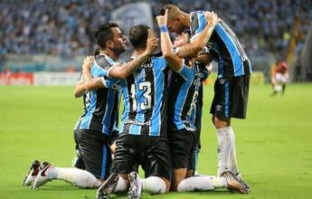 Grêmio goleia o Brasil-Pel e garante vaga nas semifinais do Gauchão