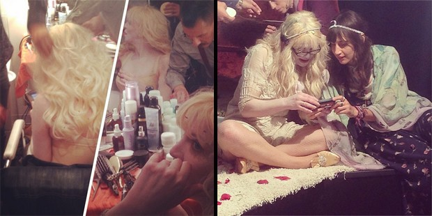 courtney love clipe wedding single (Foto: Reproducao/ Instagram)