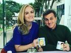 Luciano Huck e Angélica apresentam 'Vídeo Show' e são elogiados na web