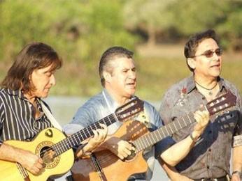 Pescuma, Henrique e Claudinho representantes da cultura Mato-grossense. (Foto: Reprodução)