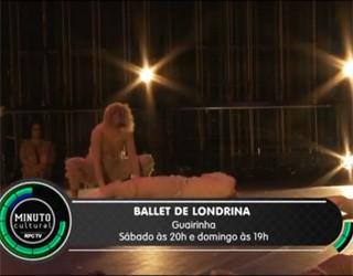 Minuto Cultural CWB - Ballet de Londrina (Foto: Reprodução/RPC TV)