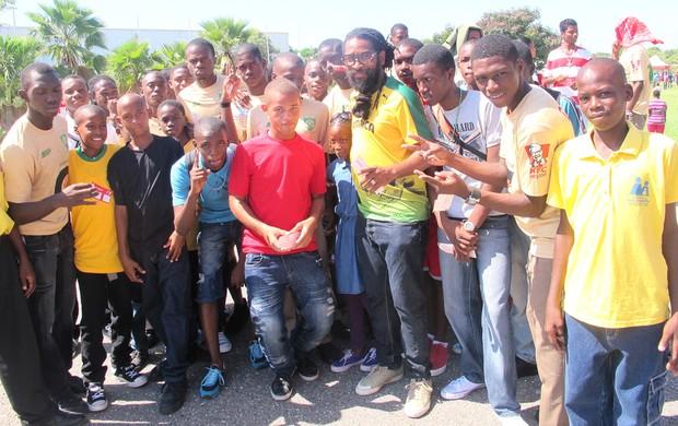 Daniel 'Rasta Tour da Taça Jamaica (Foto: Diego Venturelli)