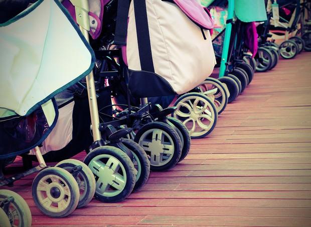 Acidentes com carrinhos são comuns (Foto: Thinkstock)