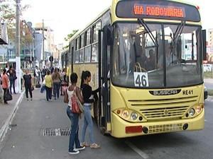 câmeras de video-monitoramento são instaladas em ônibus de Divinópolis MG - 2 (Foto: Reprodução/TV Integração)