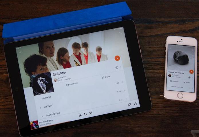 Google Play Music finalmente chegou ao iPad (Foto: Reprodução/The Verge)