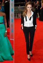 Lupita Nyong'o é eleita por internautas a mais bem-vestida do prêmio BAFTA