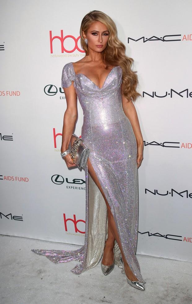 Paris Hilton em evento em Los Angeles, nos Estados Unidos (Foto: David Livingston/ Getty Images)
