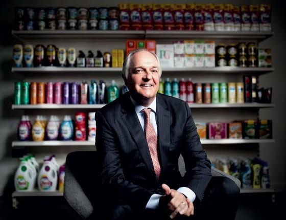 Paul Polman na Unilever. Ele forçou os acionistas  a pensar a longo prazo (Foto:  Simon Dawson/Bloomberg via Getty Images)