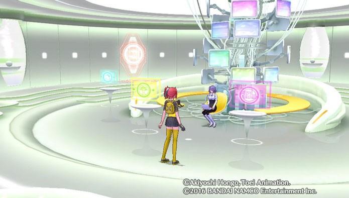 Você provavelmente passará horas no DigiLab combinando Digimons (Foto: Reprodução/Tais Carvalho)