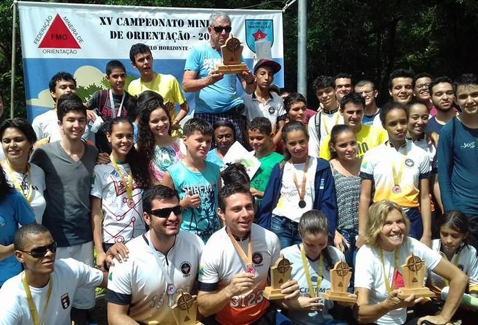 Clube de orientação de Divinópolis (Foto: Codiv/Divulgação)