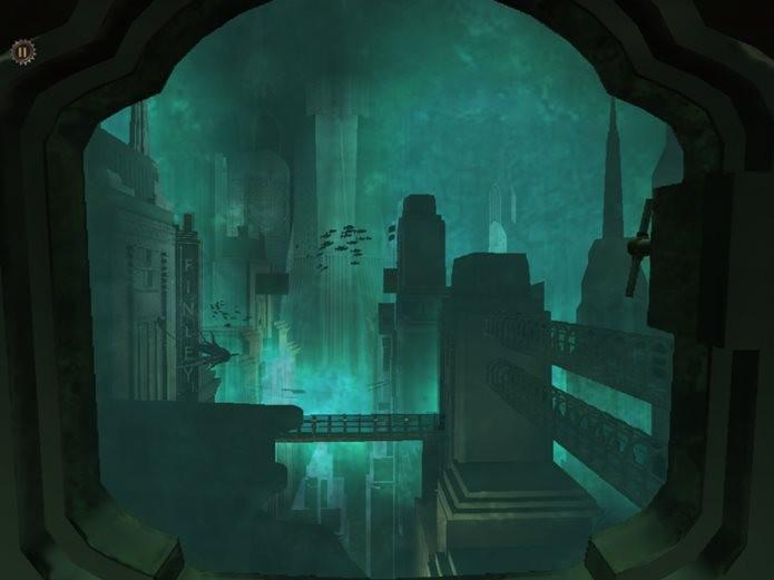 De volta a Rapture, dessa vez em versão mobile (Foto: Reprodução / Pocket Gamer)