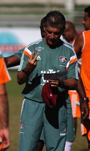 Ricardo Drubscky treino Fluminense (Foto: NELSON PEREZ/FLUMINENSE F.C.)