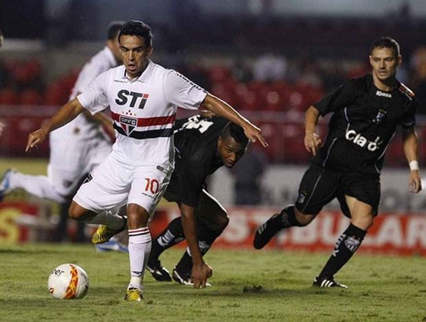 Jadson, São Paulo x Bragantino (Foto: Rubens Chiri/Saopaulofc.net)