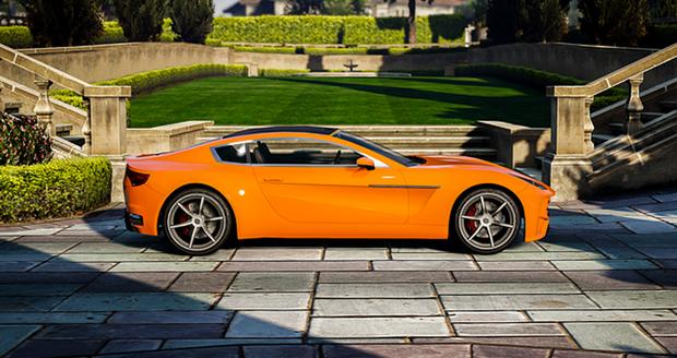 Dewbauchee Seven-70 - GTA online ganha novo carro e mapas (Foto: Divulgação)