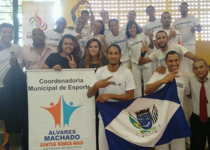 Capoeira Álvares Machado Jogos Abertos (Foto: Clayton Dutra / Arquivo Pessoal)