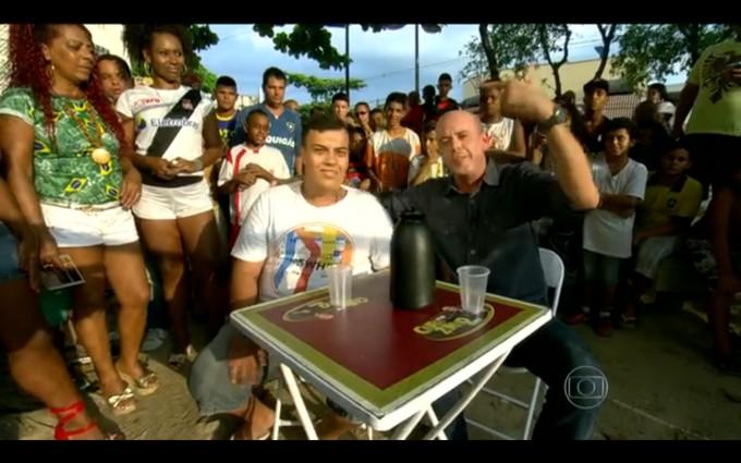 Cafezinho com Escobar 01/04/2014 (Foto: Reprodução)