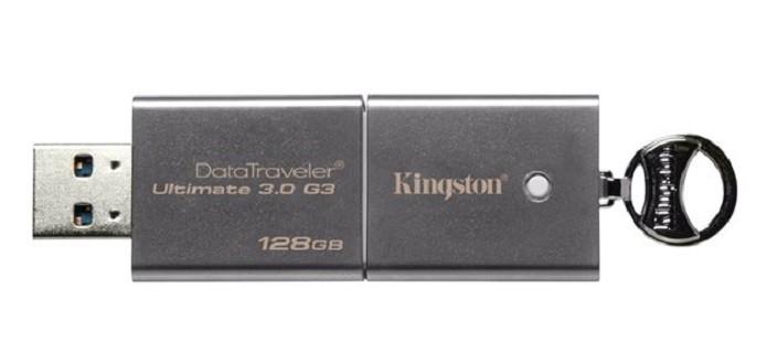 DataTraveler Ultimate 3.0 G3 de 128 GB (Foto: Divulgação/Kingston)